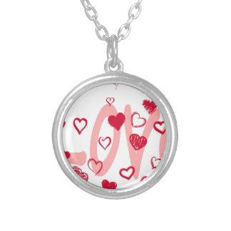hearts2 zilver vergulden ketting