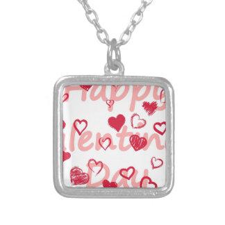 hearts3 zilver vergulden ketting