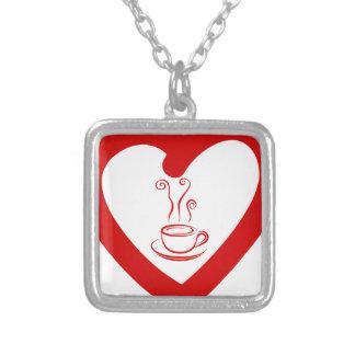 hearts8 zilver vergulden ketting