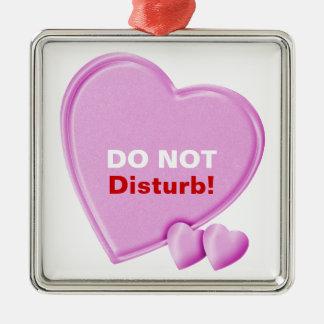 Hearts Do Not Disturb het Ornament van de Hanger
