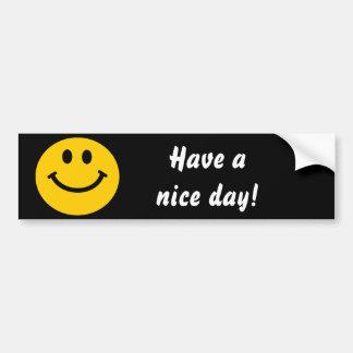 Heb een aardige sticker van de Bumper van dagSmile