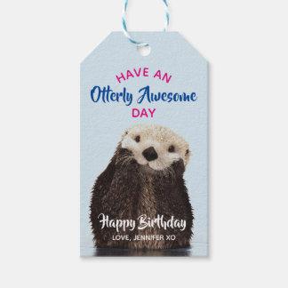 Heb een Foto van de Otter van de Geweldige Dag Cadeaulabel