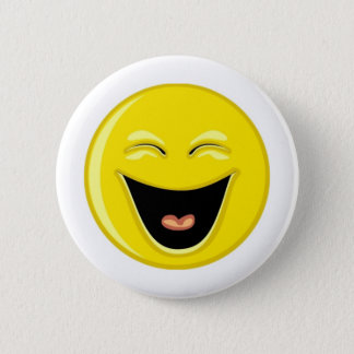 Heb een Gezicht van Smiley van de Lach Ronde Button 5,7 Cm