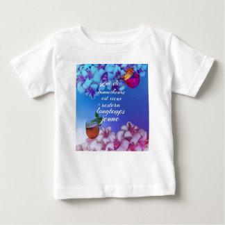 Heb een goede tijd en u zal voor altijd jong baby t shirts