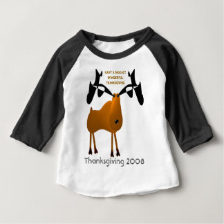 Heb een Prachtige Thanksgiving moo-St Baby T Shirts
