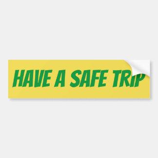 Heb een sticker SafeTrip