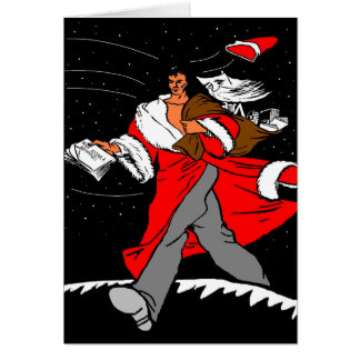 Heb Kerstmis Commie Briefkaarten 0