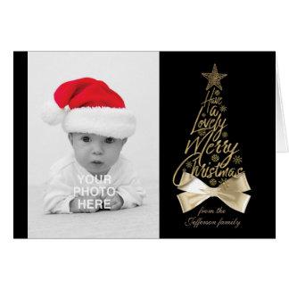 Heb Mooie Vrolijke Kerstmis Kaart