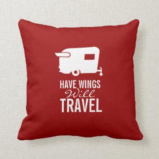 Heb Vleugels zal reizen - de Aanhangwagen van de Sierkussen
