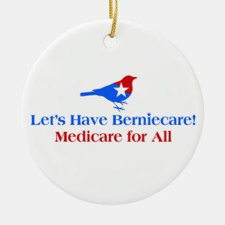Hebben Berniecare - Gezondheidszorg voor bejaarden Rond Keramisch Ornament