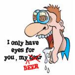 Hebben slechts ogen voor bier grappig het drink wenskaart zazzle - Ogen grappig ...