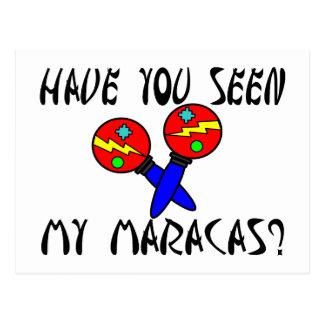 Hebben u Gezien Mijn Maracas Briefkaart