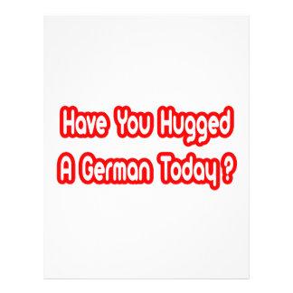 Hebt u een Duitser vandaag gekoesterd? Fullcolor Folder