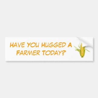 Hebt u een Landbouwer vandaag gekoesterd? Bumpersticker