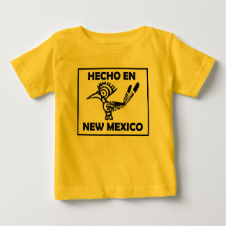 Hecho Engels die New Mexico in New Mexico wordt Baby T Shirts