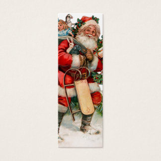 Heel oude St. Nicholas Gift Tags Mini Visitekaartjes