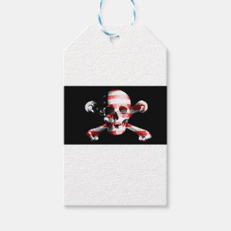 Heel Roger Skull Crossbones Skull en Gekruiste Cadeaulabel