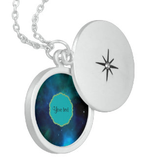 Heelal Locket Ketting