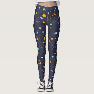 Heelal, ruimte, fantasie leggins voor vrouwen leggings