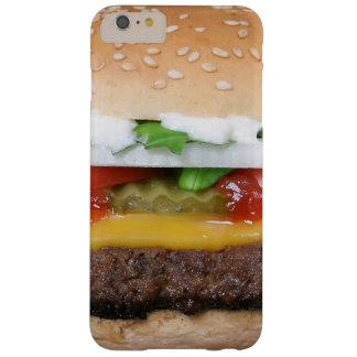 heerlijke cheeseburger met groenten in het barely there iPhone 6 plus hoesje