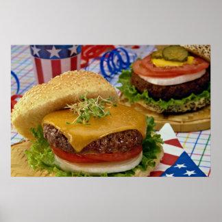 Heerlijke Hamburger Poster