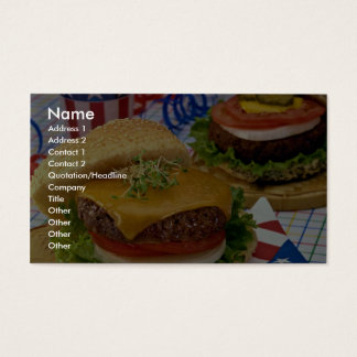Heerlijke Hamburger Visitekaartjes