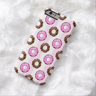 Heerlijke Roze iPhone 6 van Strepen Donuts Hoesje