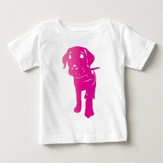 Heet Roze Puppy! Baby T Shirts
