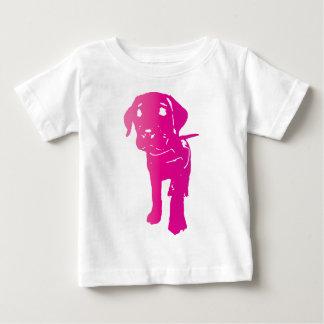 Heet Roze Puppy! Baby T Shirts
