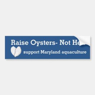 Hef oester-niet Hel op Bumpersticker