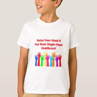Hef Uw Hand voor de Gezondheidszorg van de T Shirt