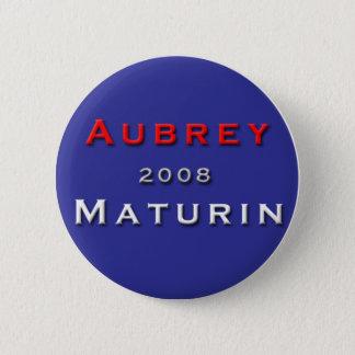 Hefboom Aubrey voor President! Ronde Button 5,7 Cm