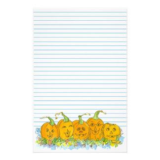 Hefboom-o-lantaarn Gevoerde het Blauw van Briefpapier
