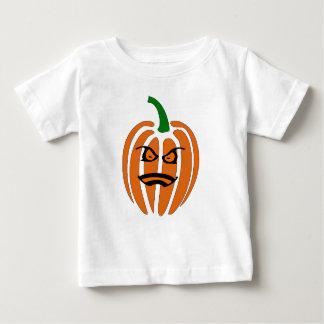 Hefboom O'Lantern, het Gezicht van de Pompoen Baby T Shirts
