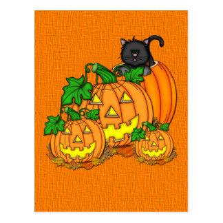 Hefboom O'Lanterns Halloween Briefkaart