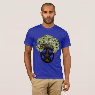 Heidense Pentacle van de zomer Boom T Shirt
