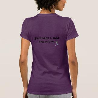 """""""Heilig door een kind met autisme"""" T-shirt"""