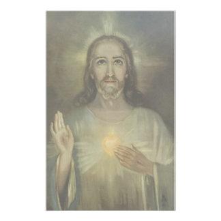 Heilig Hart van Jesus Enthronement Briefpapier