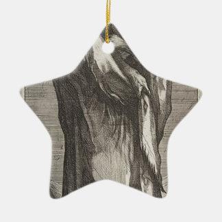 Heilige Andrew Keramisch Ster Ornament