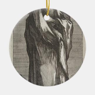 Heilige Andrew Rond Keramisch Ornament
