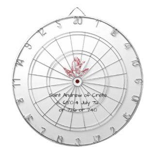Heilige Andrew van Kreta Dartbord