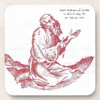Heilige Andrew van Kreta Drankjes Onderzetter