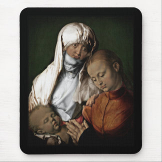Heilige Anne Admiring Baby Jesus Muismat