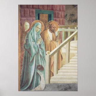 Heilige Anne en Joachim bij de Presentatie van Poster