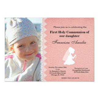 Heilige Communie 12,7x17,8 Uitnodiging Kaart