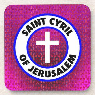 Heilige Cyril van Jeruzalem Bier Onderzetter
