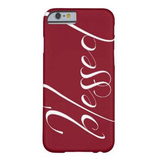 Heilige Donkerrode iPhone 6 van de Verklaring hoes