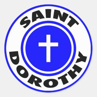 Heilige Dorothy Ronde Sticker