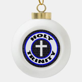 Heilige Drievuldigheid Keramische Bal Ornament