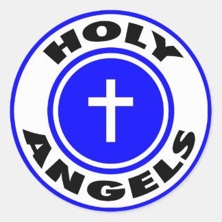 Heilige Engelen Ronde Sticker
